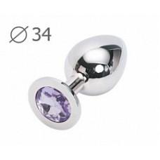 925кш) Anal Jewelry Plug большой, анальный
