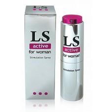 203)  Б/Спрей для женщин LOVESPRAY ACTIVE (возбуждающий) 18мл.