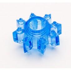 120кш) Насадка гелевая кольцо голубая