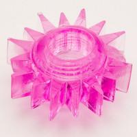120кш) Насадка гелевая кольцо розовая