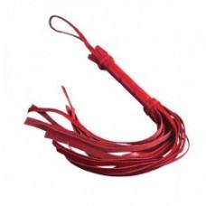 652кш)  Плеть мини красная