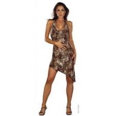 460ш) Платье пантера
