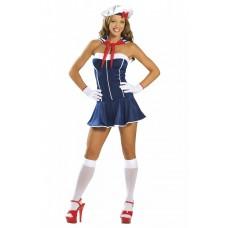 458к) Платье  морячка