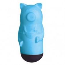 10к) Виброяйцо, голубое, 7 режимов, ПВХ + АБС пластик, 9cm * 3.1cm