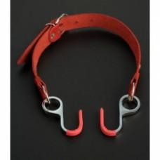654кш)  Кляп с крючками расширяющий-красный