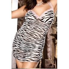 526к) Платье зебра